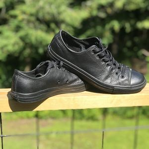Leather Converse All Star Low